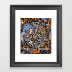 Sri Yantra Framed Art Print
