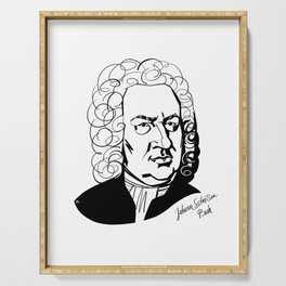 Johann Sebastian Bach Serving Tray