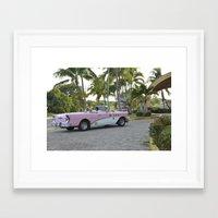 cuba Framed Art Prints featuring cuba by kgee