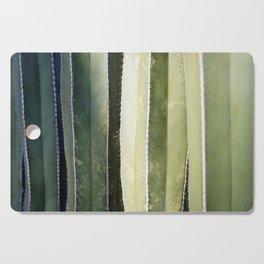 Cacti In A Row Cutting Board
