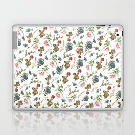 Antique Floral Pattern Laptop & iPad Skin