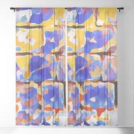 Just Another Brick Wall Sheer Curtain