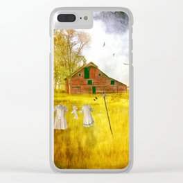 YESTERYEAR Clear iPhone Case