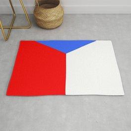 flag of Czech 2 -Czechia,Česko,Bohemia,Moravia, Silesia,Prague. Rug