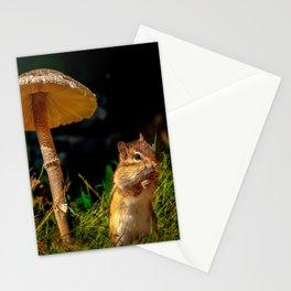 Under The Shady Mushroom Stationery Cards