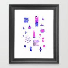 Pompoko Framed Art Print