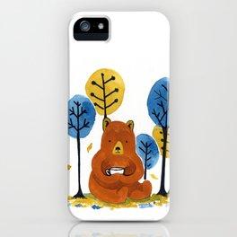 Coffee Bear iPhone Case