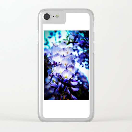 Flowers magic 2 Clear iPhone Case