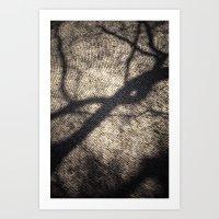 shadow Art Prints featuring Shadow by Maria Heyens
