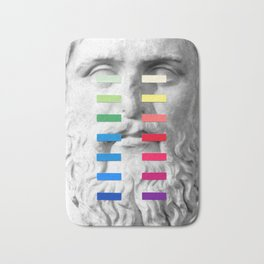 Sculpture With A Spectrum 1 Bath Mat