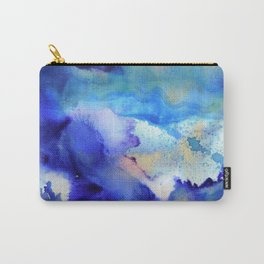 Indigo Mirage Carry-All Pouch
