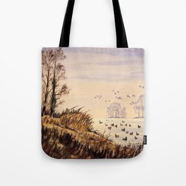 Duck Hunting Times Tote Bag