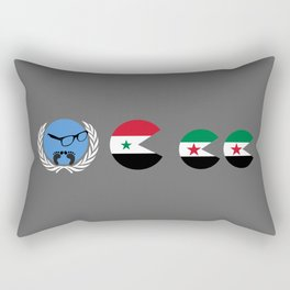 United Nations is watching Syria Rectangular Pillow