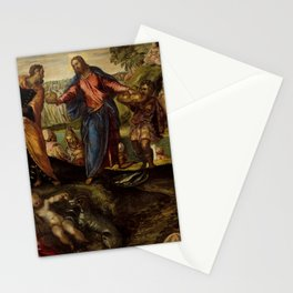 "Tintoretto (Jacopo Robusti) ""The Miracle of the Loaves and Fishes"" Stationery Cards"