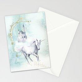 Unicorn magic Stationery Cards