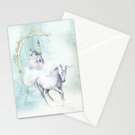 Unicorn magic Stationery Cards