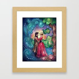 It Always Starts With A Dance Framed Art Print