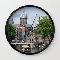 Sunny Amsterdam Wall Clock