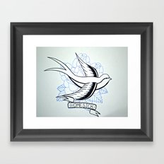 Dirty - Homesick Framed Art Print
