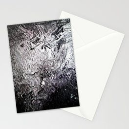 Black Lava III Stationery Cards