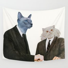 Cat Chat Wall Tapestry