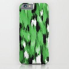 Green Leopard Pattern iPhone 6s Slim Case