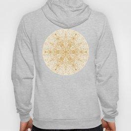 Sepia Snowflake Doodle Hoody
