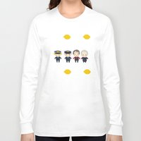 cabin pressure Long Sleeve T-shirts featuring Cabin Pressure: The Lemon is With You by Le Bear Polar