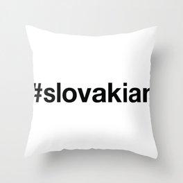 SLOVAKIA Throw Pillow