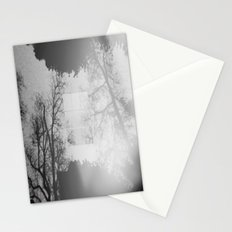 Fading into the Fog Stationery Cards