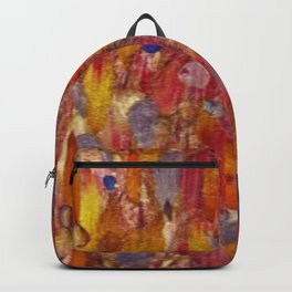 Field of Petals As Paint Backpack