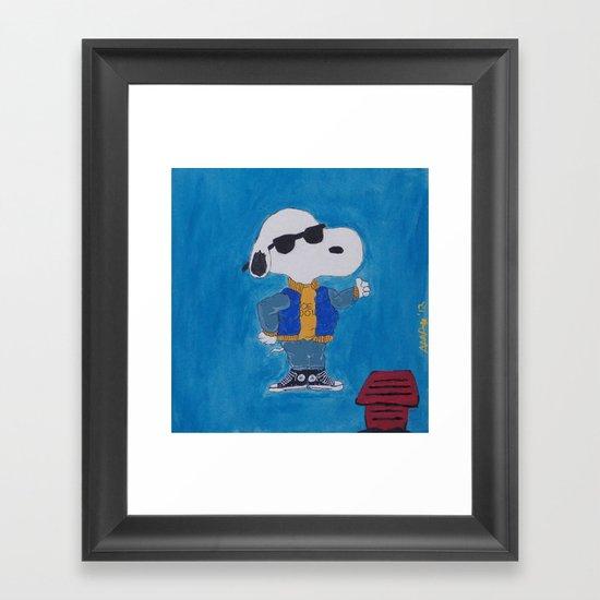 """All Star"" Joe Cool Taylor Framed Art Print"