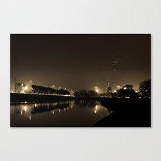 Dark Night Canvas Print