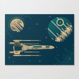 Star Wars Throwback Canvas Print