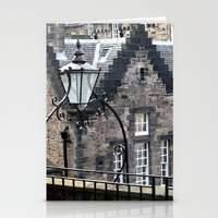 edinburgh Stationery Cards featuring Edinburgh castle by oxana zaika