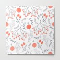 Red Berry Floral by peppermintcreek