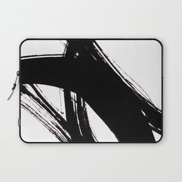 Abstract Wall art, Abstract Print, Black White Abstract Print, Black White Art, Minimalist Print, Ab Laptop Sleeve