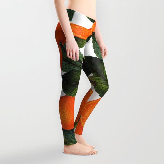 The Forbidden Orange #society6 #decor #buyart Leggings