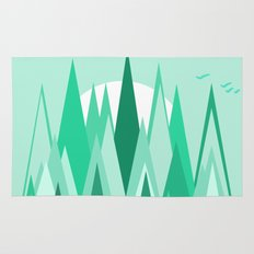 The Frozen Forest Rug