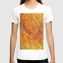 African American Masterpiece 'Magnetic Fields' by Mildred Thompson T-shirt