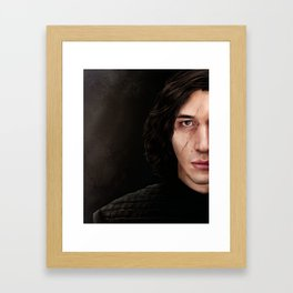 Heir Apparent to Lord Vader Framed Art Print