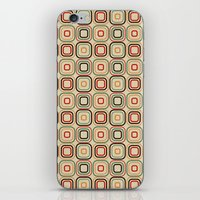 square iPhone & iPod Skins featuring Square by samedia