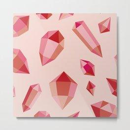 Gems Metal Print