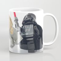 saga Mugs featuring I leave you with the saga for two movies and look what happens? by Tom Milton