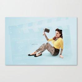 """""""The Auteur"""" Canvas Print"""
