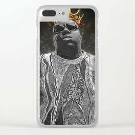 The Notorious B.I.G. Clear iPhone Case
