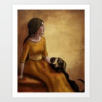 The Kennelmaster's Grandchild Art Print
