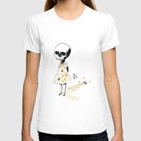 creepy T-shirts featuring hello creepy by mloyan