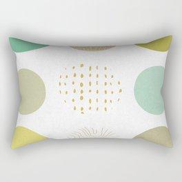 Circles Boxed In Rectangular Pillow