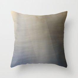 Light and Metal Abstract Throw Pillow